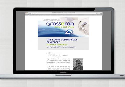 Grosseron – Identité globale